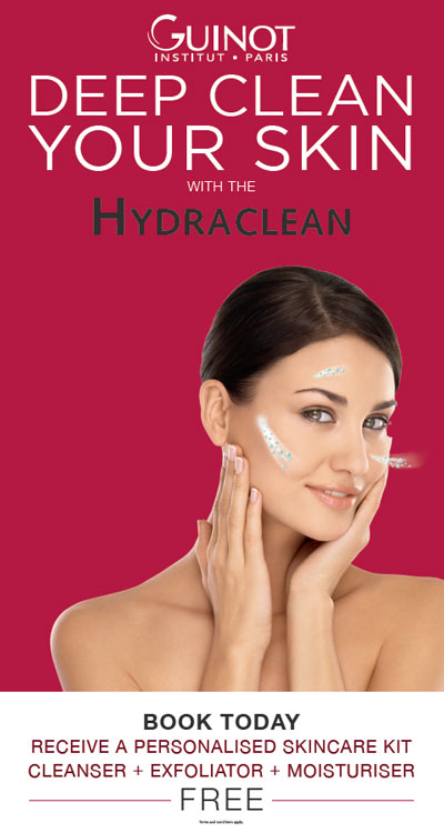 FREE GIFT with Hydraclean Facial!